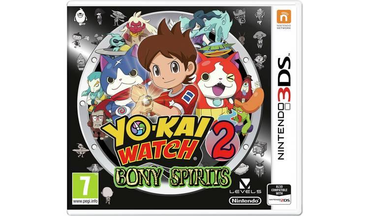 Yo-Kai Watch 2: Bony Spirits Nintendo 3DS Game £3.49 +Free Click & Collect @ Argos
