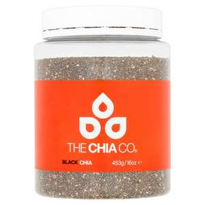 The Chia Company Chia Seed 453g tubs now only £5.00 @ Tesco (was £10.00)