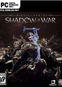 Middle-earth: Shadow of War (Steam PC) - £2.48 @ Gamivo / Game_Garden