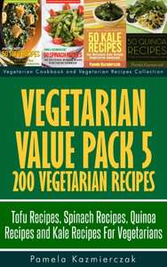 200 More Vegetarian Recipes Kindle Edition - Free @ Amazon