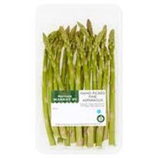 Morrison's fine tip asparagus - 69p Instore (Nelson, Lancs)