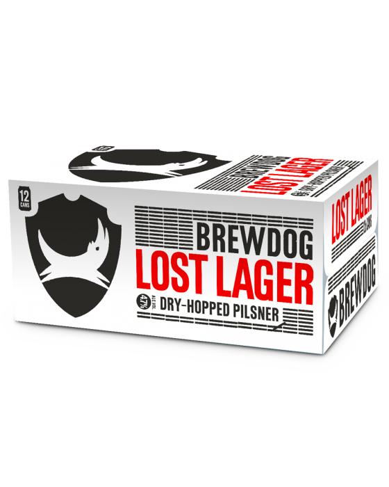 Brewdog Lost Lager 12 Pack only £9 @ Tesco