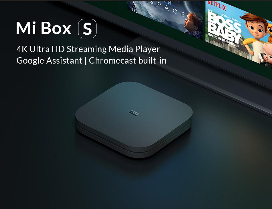 Xiaomi Mi TV Box S 4K Ultra HD - £44.41 @ Ali Express Deals / Xiami Store