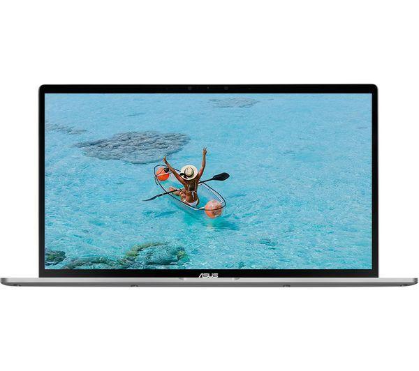 "ASUS ZenBook Flip 14 UM462DA 14"" AMD Ryzen 5 2 in 1 Laptop - 256 GB SSD, Grey - £599 @ Currys"