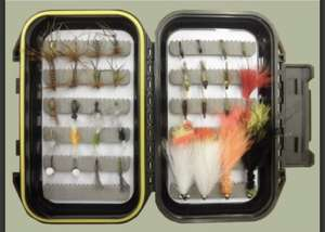 Vera's Beginners Box - 40 Mixed Flies - £15.99 @ Troutflies
