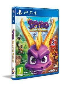 PlayStation 4 : Spyro Reignited Trilogy (PS4) - Very Good condition - £13.98 @ eBay / Music Magpie