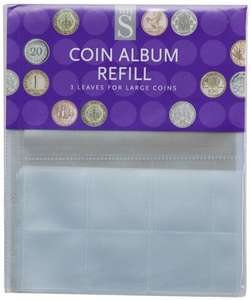 WHSmith BOGOF collector coin albums & refills and save 10% over £25