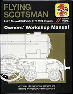 Flying Scotsman Manual - £7 at Amazon Prime (+£3.49 non Prime)