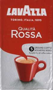 Lavazza Qualità Rossa, Ground Coffee Espresso, 250 g (Pack of 12) £34.80 at Amazon