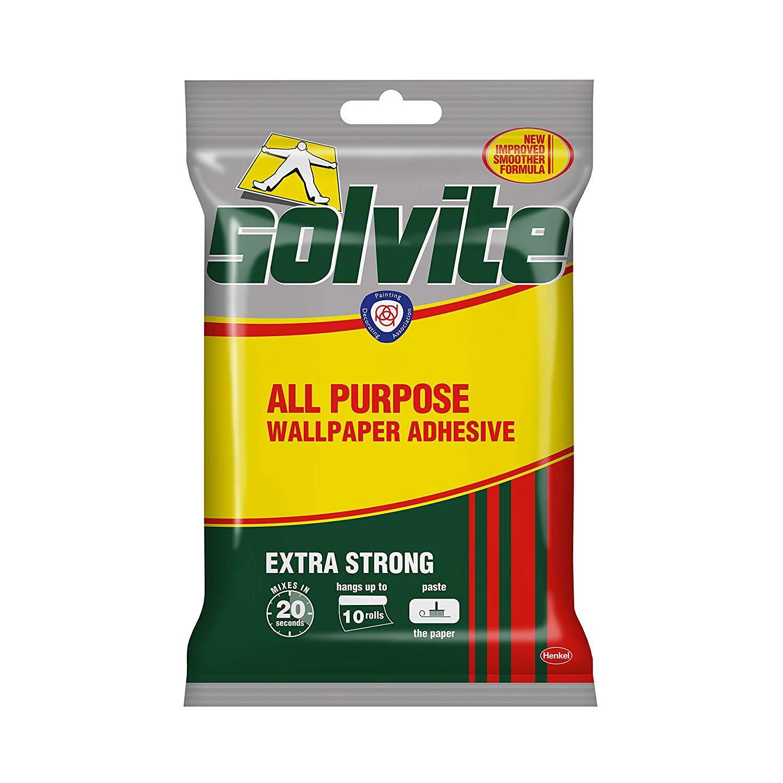 Solvite All-Purpose Adhesive, Wallpaper Paste hangs up to 10 Rolls (1x185g Sachet) £1.64 at Amazon Prime / £6.13 Non Prime