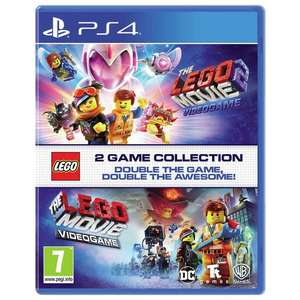 The Lego Movie 1 & 2 Double Pack - (PS4 & Xbox One) £14.99 @ Smyths (free C&C)