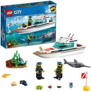 LEGO 60221 City Great Vehicles Diving Yacht Boat at Amazon £13.99 Prime (+£3.49 non Prime)