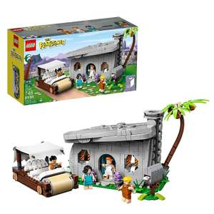 LEGO 21316 Ideas The Flintstones Home and Footmobile £47.38 delivered / £45.74 delivered with fee free card at Amazon Germany