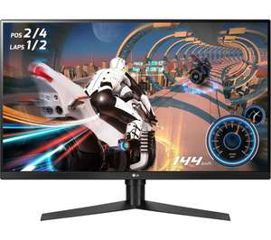 LG 32 inch gaming monitor 144HZ 1440p (LG 32GK650F) for £299 at Currys PC World