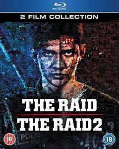 The Raid 1 & 2 bluray (pre-owned) £5 instore at CeX (+£1.50 online)