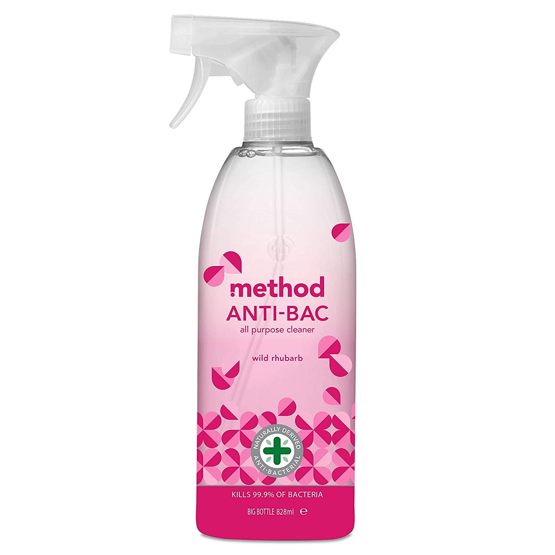 Method All Purpose Cleaner - Anti Bac 8 X 828Ml £7.85 / £12.34 Non Prime @ Amazon