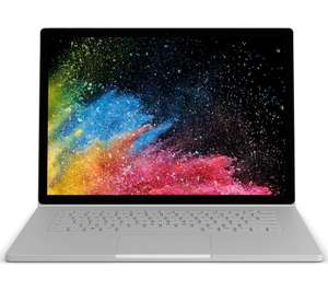 "MICROSOFT Surface Book 2 15"" Intel® Core™ i7 - 256 GB SSD, Silver £1749 @ Currys"