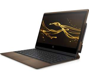 "HP Spectre Folio 13"" Intel® Core™ i7 2 in 1 - 256 GB SSD, Brown Cognac Leather £1,199 at Currys PC World"