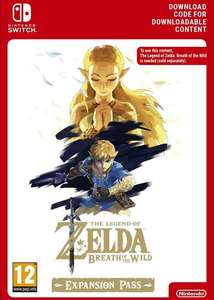 Zelda: Breath of the Wild Expansion Pass £14.20 @ Eneba