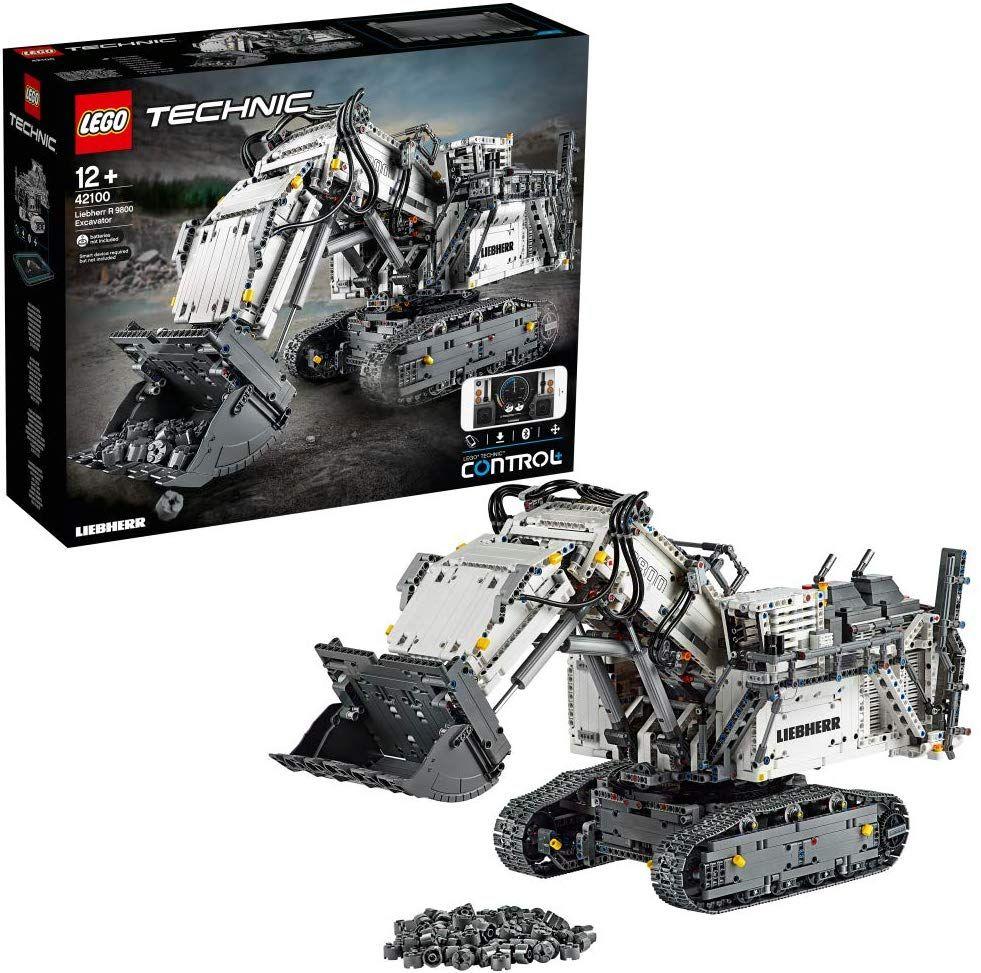LEGO 42100 Technic Control+ Liebherr R 9800 Excavator £268.13 @ Amazon Germany