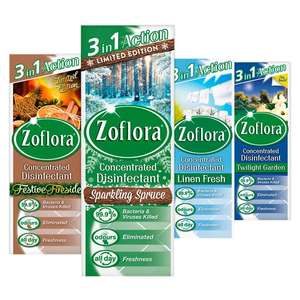 Zoflora Midnight Blooms New 3 for £3 Tesco
