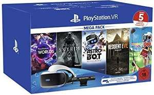 PlayStation 4 VR Megapack Edition 2 - Skyrim Astro, Bot Rescue Mission, VR Worlds, Resident Evil, Everybody´s Golf £176.62 @ Amazon Germany