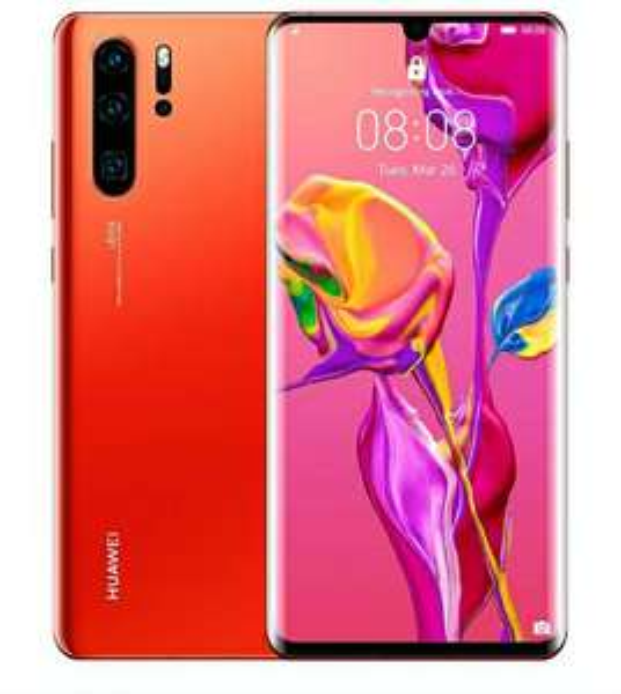 Huawei P30 Pro 128GB 8GB RAM Dual SIM (256GB for £522)- Amber Sunrise £470 at Wowcamera