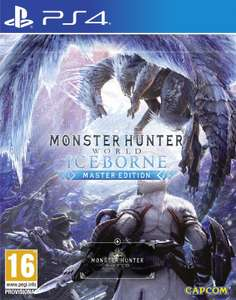 Monster Hunter World: Iceborne Master Edition (PS4) In stock Brand New & Sealed £31.85 at boss_deals eBay