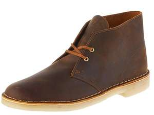 Clarks Originals Men's Desert Boots - Size 8 and 9 - £30 at Amazon