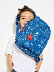 Younger Boys Blue Space Mini Rucksack £7 @ Peacocks