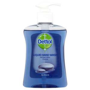 Robert Dyas - Dettol Anti Bacterial Hand Wash with Sea Minerals 250ml - £0.85 with code