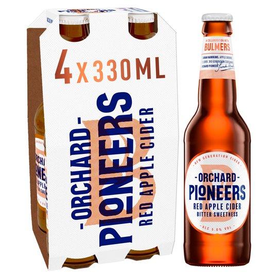 Bulmers Orchard Pioneer Red Apple Cider 4 Pack 330ml bottles £1.49 instore @ Home Bargains Crossgates Leeds