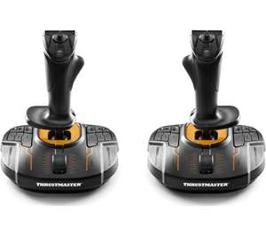 THRUSTMASTER T16000M FCS Space Sim Duo Joysticks + 6 Months Free Spotify Premium - Free Delivery - £56.99 @ Currys