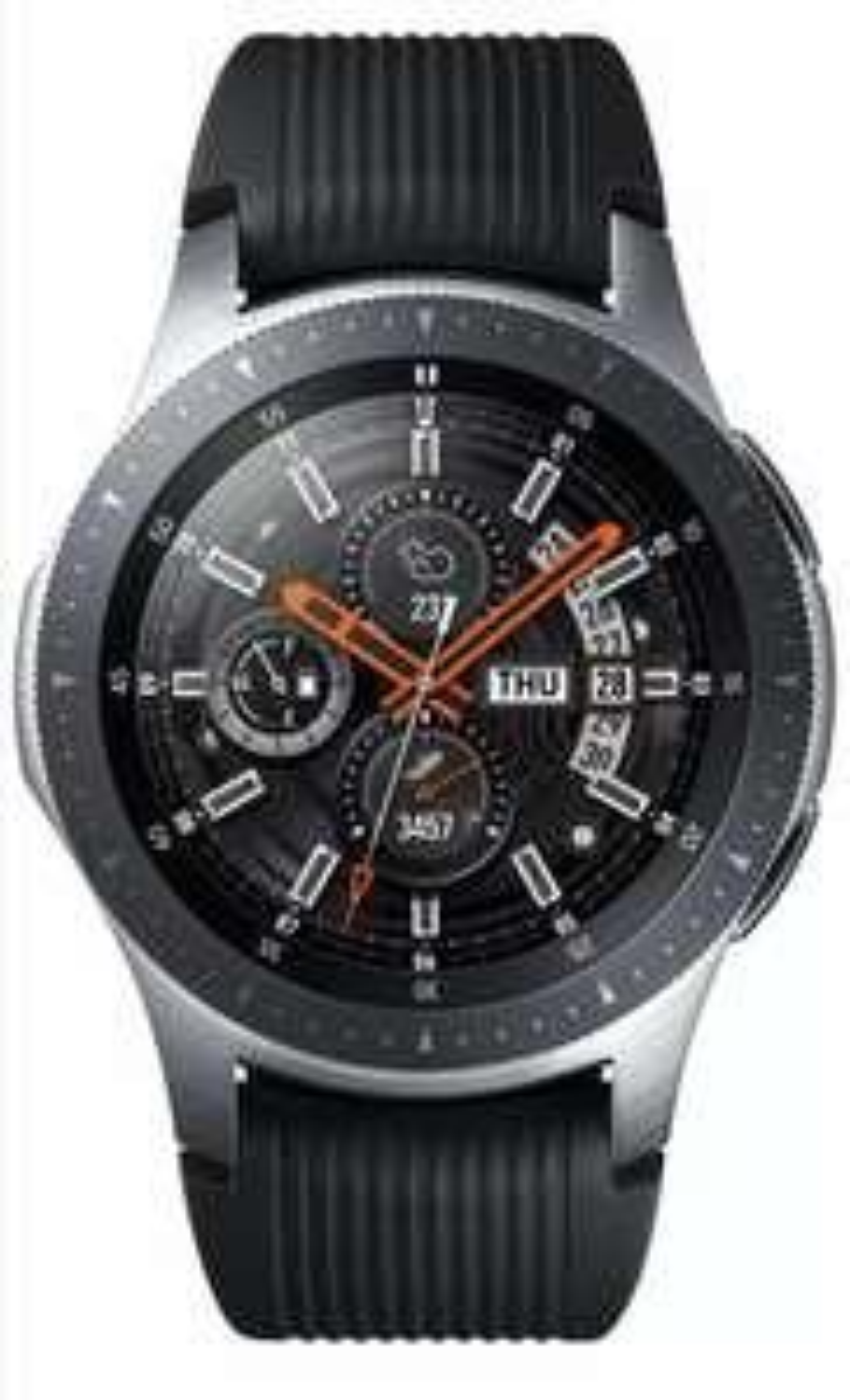 Samsung Galaxy 46mm 4GB Bluetooth Smart Watch - Silver Refurbished £129.99 | 42mm £119.99 Pink @ Argos / Ebay