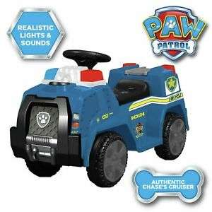 PAW Patrol Chase Police Cruiser 6V £32.99 at Argos/eBay (Not suitable for children under 3 years old) - Free Click & Collect