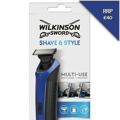 Wilkinson Sword Shave & Style Men's Electric Shaver Trimmer £19.99 @ Ebay / Wilkinson Sword