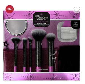 Real Techniques Glitz & Glam 10 Piece Gift Set £22 + Free C&C @Boots