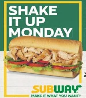 "Buy 1 Get 1 FREE 6"" Sub / 99p Breakfast Bacon Sub / £3.99 Salad Meal Deal @ Metro Newspaper"