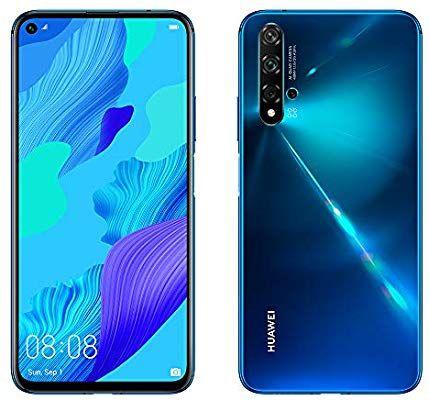 HUAWEI Nova 5T - 6.26 '' Smartphone (6 GB RAM + 128 GB) In Blue & Black £257.64 Or £249 Using A Fee Free Card @ Amazon Spain