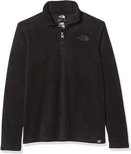 Youth's north face 100 Glacier 1/4 Zip Fleece Jacket size S only £14.29 from Amazon Sold by: IFL Store
