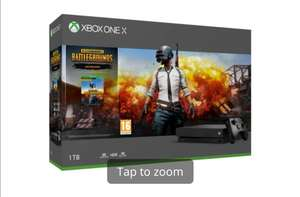 Xbox One X 1TB with PUBG and One Month Game Pass Bundle - New in Open Box £259.99 @ Game