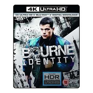 The Bourne Identity 4k UHD blu ray HDR £10.49 @ 365games