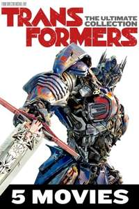 4K Transformers Box Set of 5 Movies £14.99 on Itunes (£3 each)