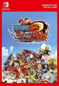 [Nintendo Switch] One Piece: Unlimited World Red Deluxe Edition - £15.89 - Eneba/GamePilot