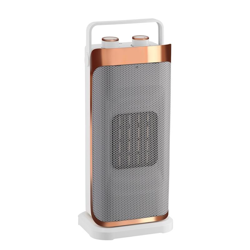 Arlec 2000w Rose Gold Oscillating 42cm Ceramic Heater £22.53 Homebase