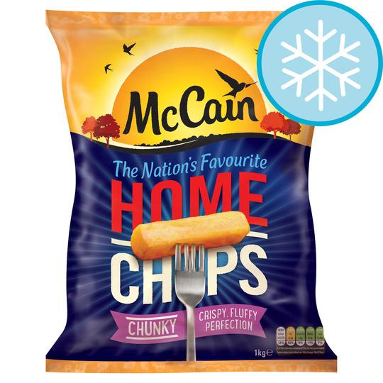 Mccain Extra Chunky Home Chips 1Kg - £1.45 @ Tesco