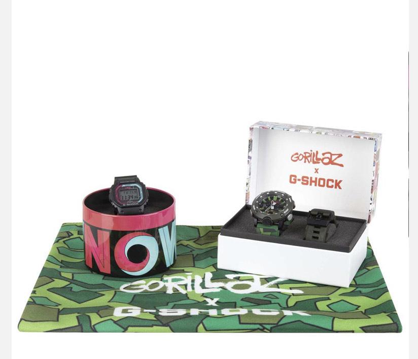 G-Shock x Gorillaz Bundle OS £208 @ 5Pointz