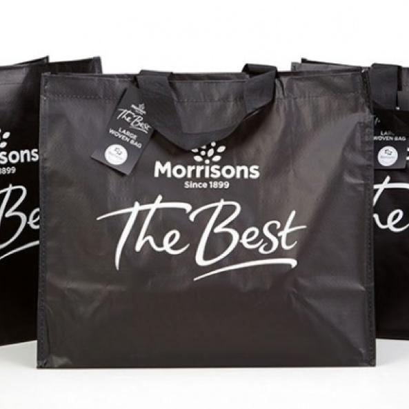 Morrisons Biomaster Trolley bag £5 (Belper)