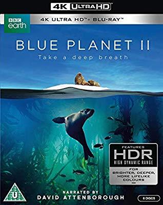 Blue Planet II 2 - 4K Blu Ray £14.38 @ Amazon (+£2.99 Non-prime)