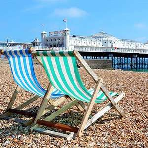 Two night stay at The Old Ship Hotel in Brighton with breakfast and late check-out for £130 @ Secret Escapes